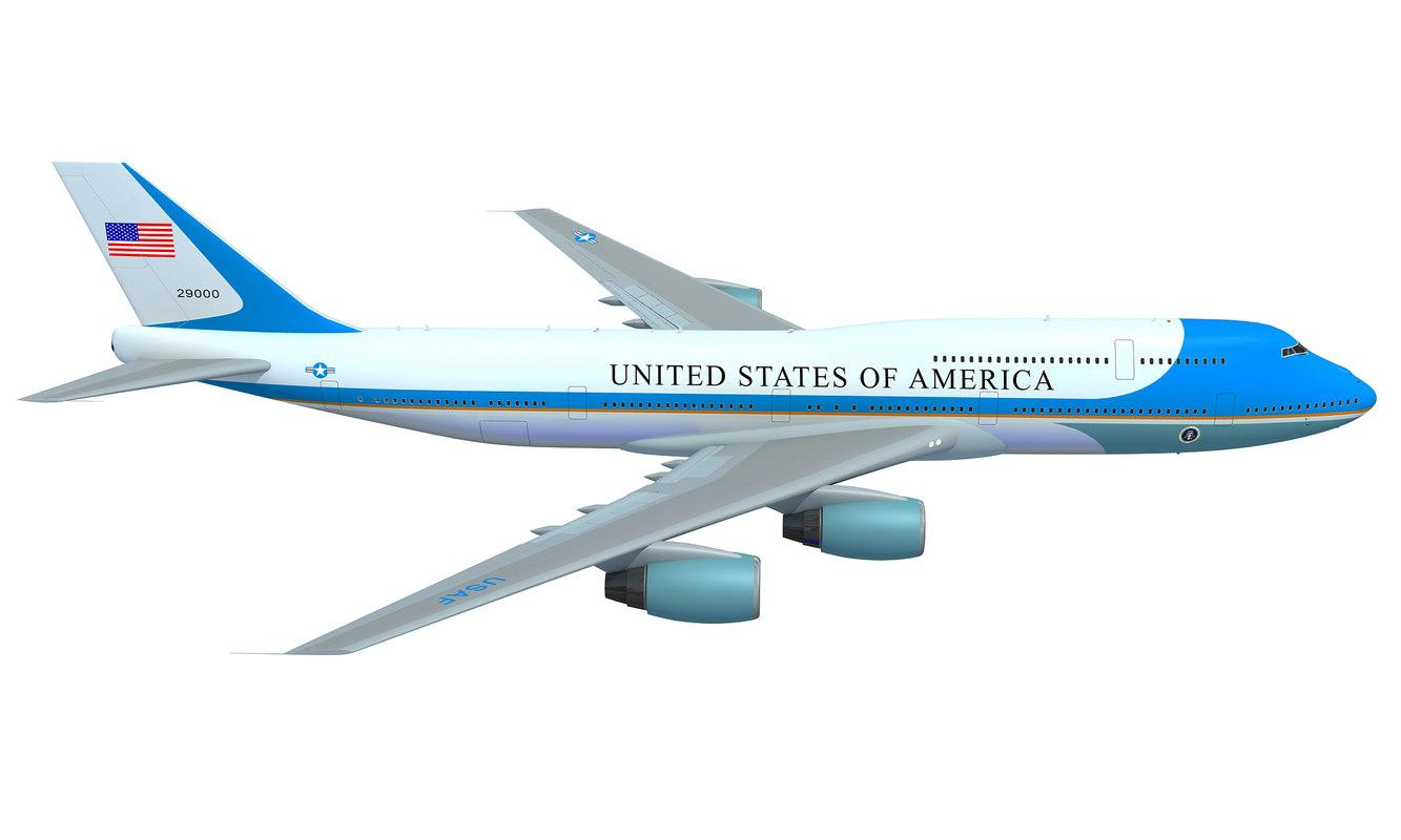 3D aerial air force aircraft