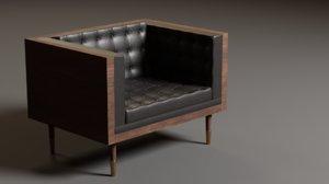 box chair 3D