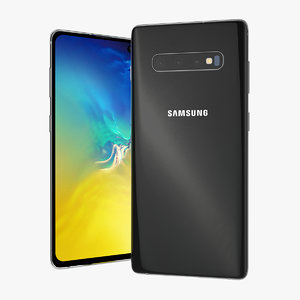 black samsung galaxy s10 model