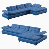 3d model humphrey sofa
