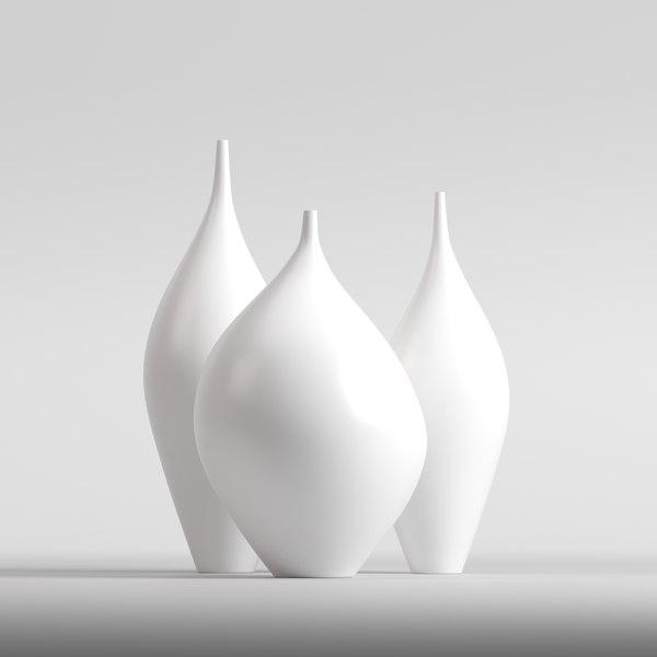 3D vase goccia soffio kose