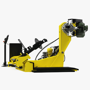 3D truck tyre changing machine