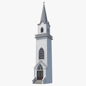 3D wooden tower bell