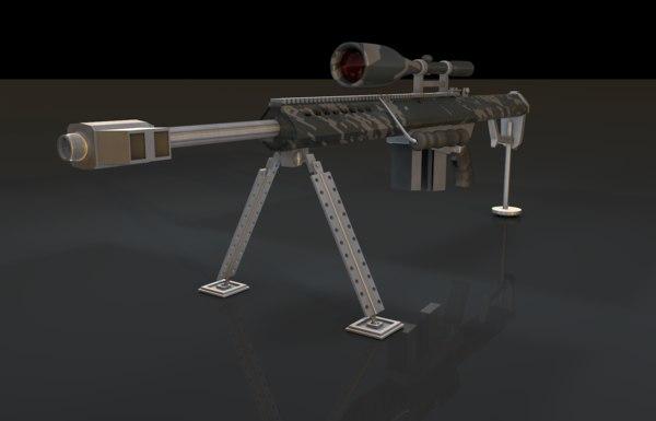 barret 50 3D model