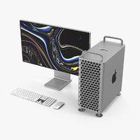mac pro 2019 set 3D