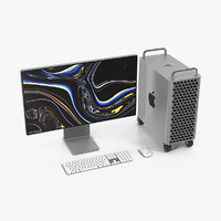 3D mac pro wheels 2019