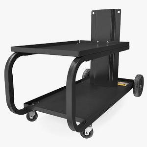 welding welder cart 3D model