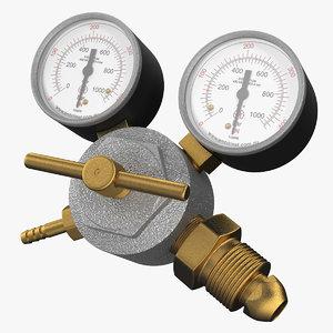 argon co2 double pressure 3D