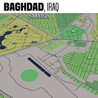 3D city baghdad maps