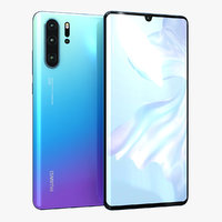 huawei p30 pro breathing 3D model