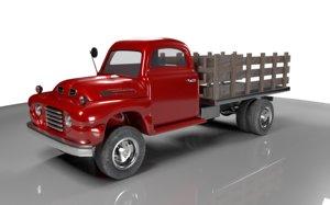 3D logging truck