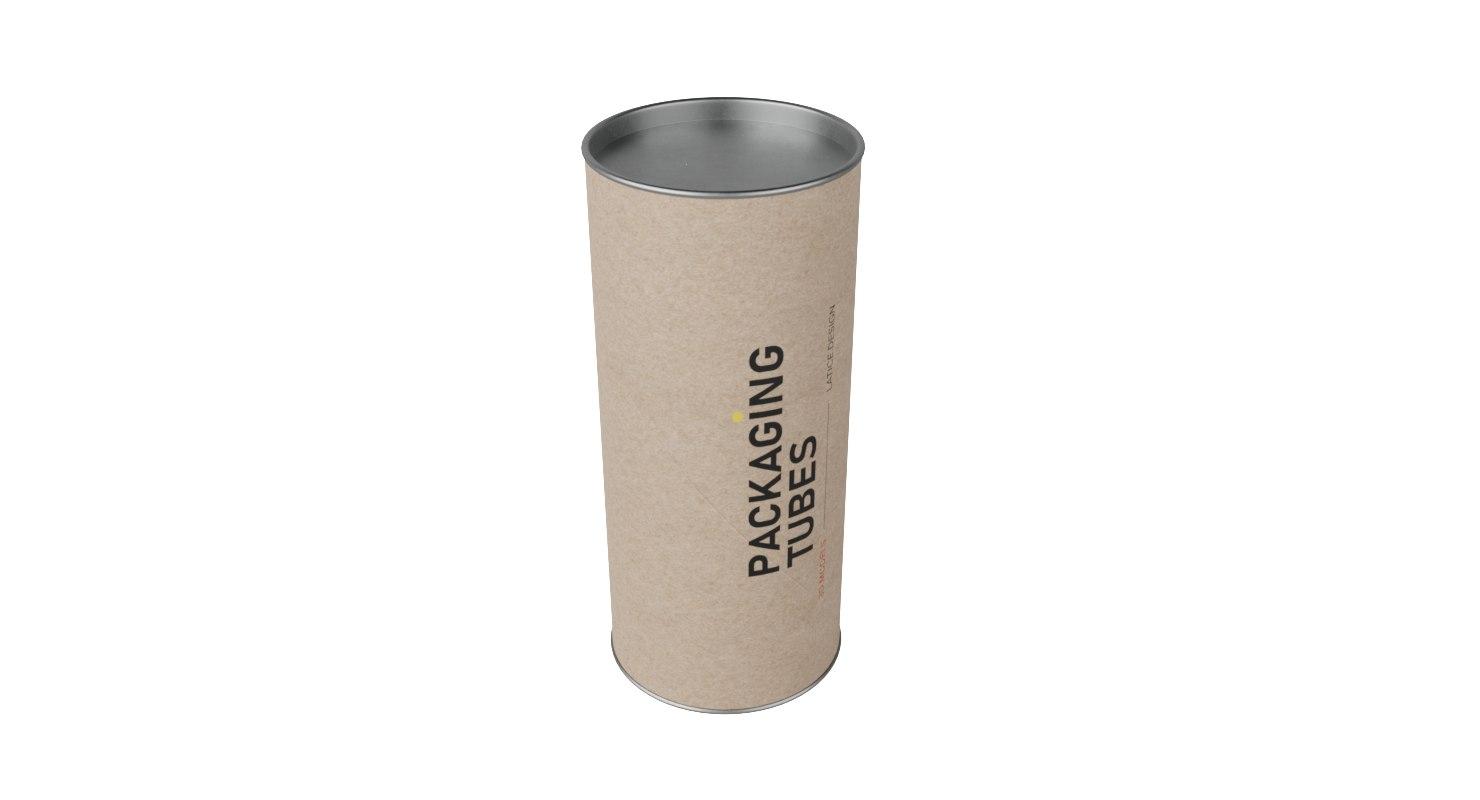 3D packaging tube