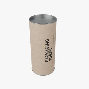 3D packaging tube