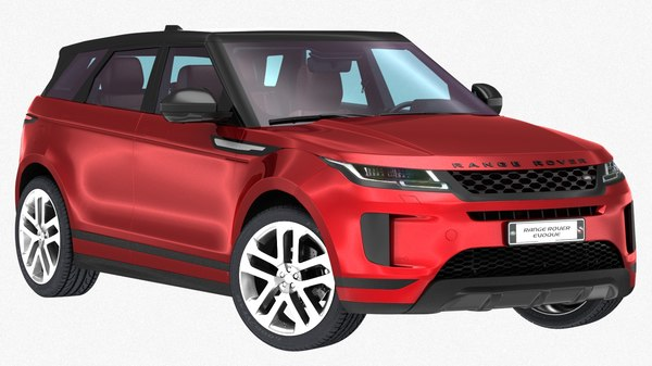land rover range evoque model
