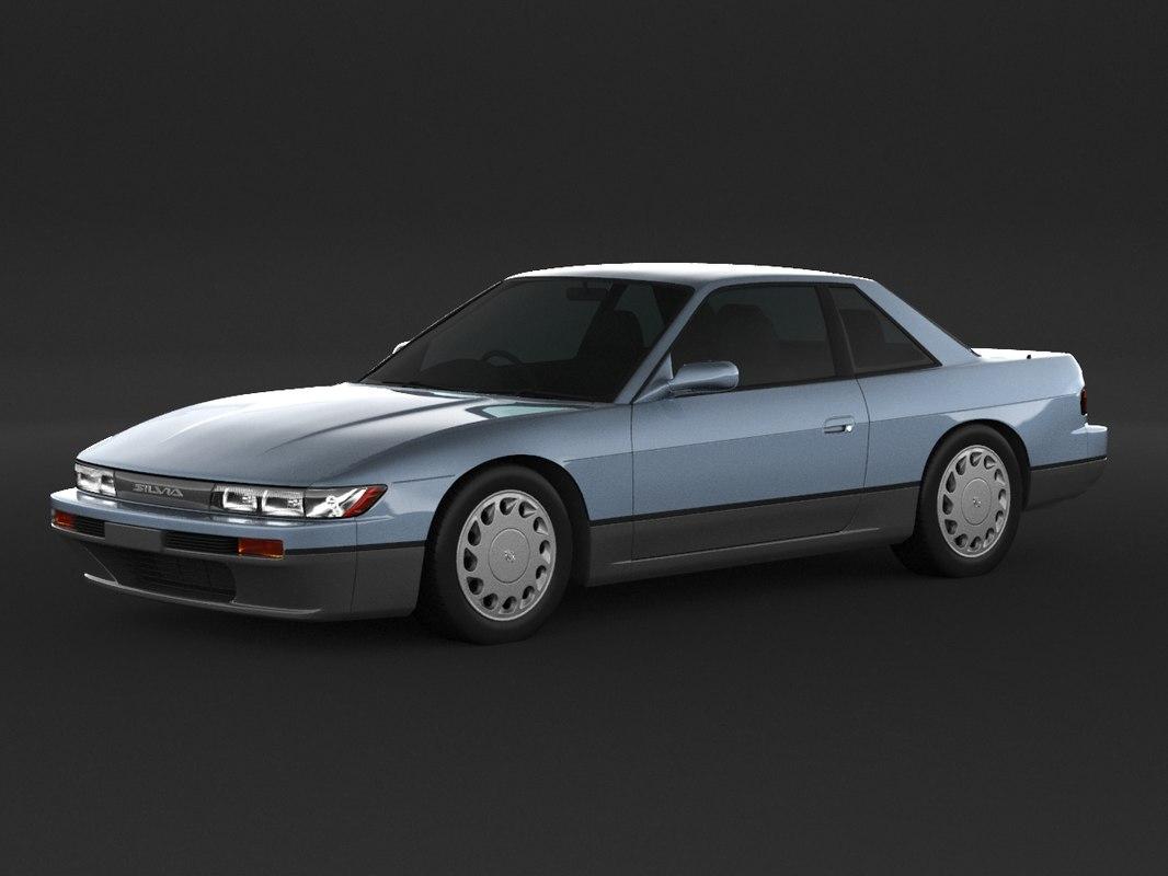 Nissan Silvia S13 Coupe Modelo 3d Turbosquid 1424382