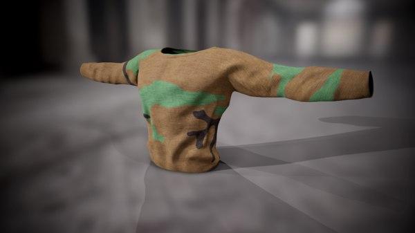 shirt sweatshirt 3D