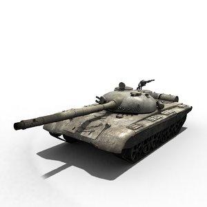 battle tanks t72 3D model