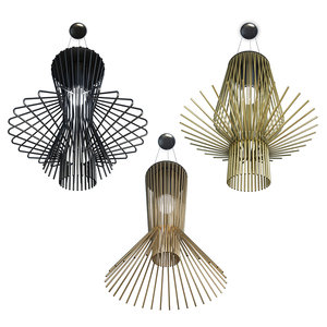 lamps pendant lighting allegretto 3D