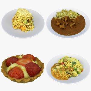 meal food 3D model