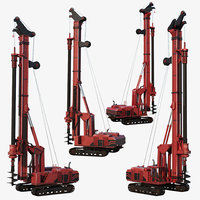 drilling rig ready 3D model