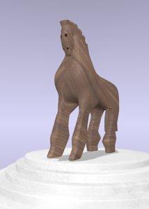 3D trojan horse