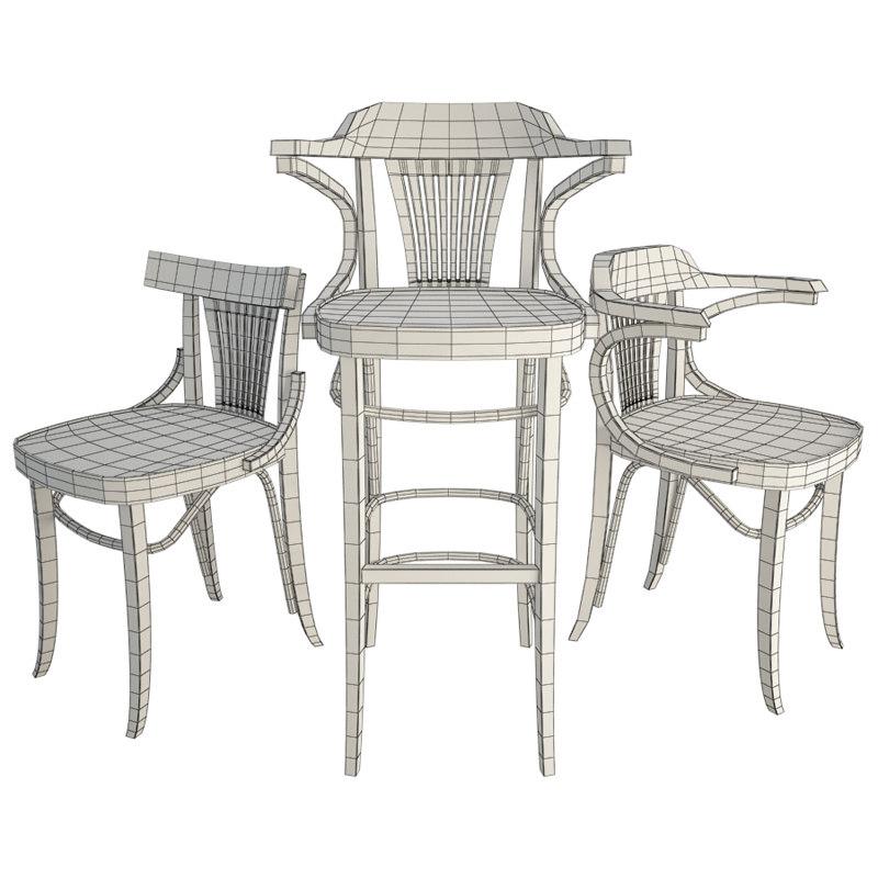 Classic Iria Wooden Chairs