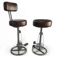 Vintage Bike Stools