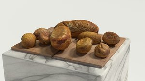 bread bakery 3D