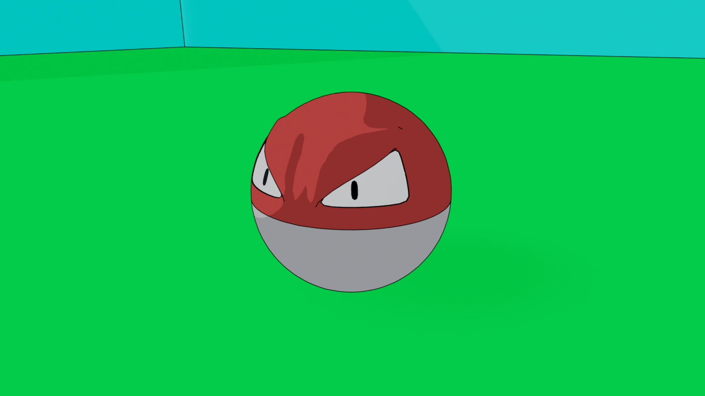 pokemon blender eevee 3D
