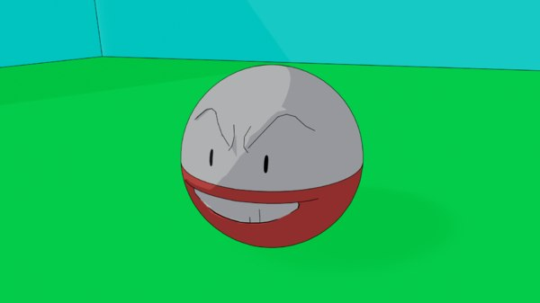 3D electrode pokemon