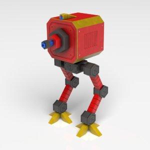 robot ostro bot 3D model