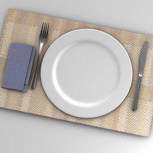 set plate model