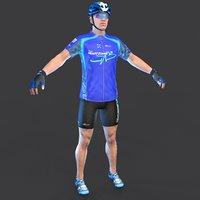 cyclist t 3D