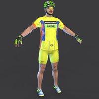 cyclist 2 3D model