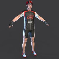 cyclist 3 3D