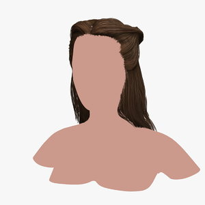 hairstyle 33 hair 3D model