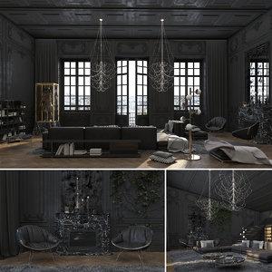 paris luxury model