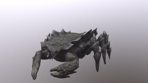 crab monster model