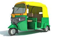 Auto Rickshaw Bajaj TukTuk