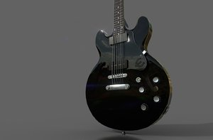 3D music instrument guitar