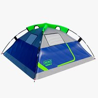 3D camping tent 4 person