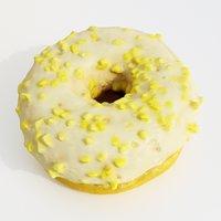 3D donut cake dessert model