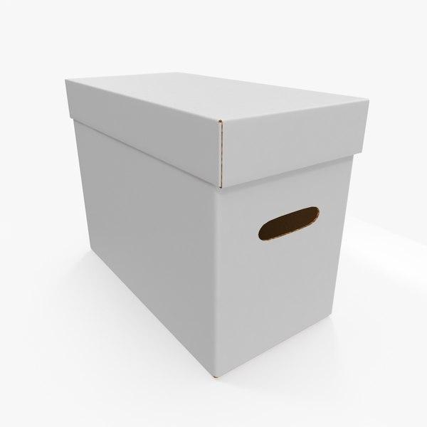 comic book box 3D model