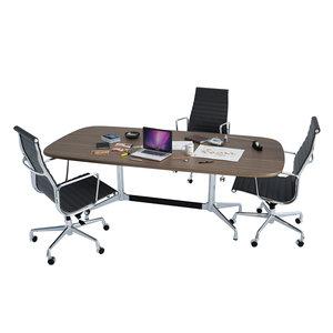 3D furniture armchair desk office