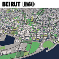 3D city beirut