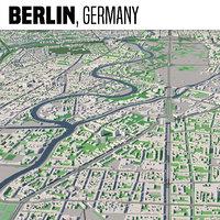 3D model city berlin