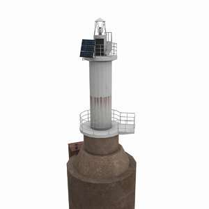 sudzhukskiy light house 3D model