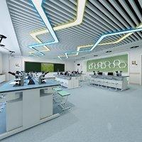 3D biology laboratory lab model