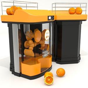 3D juicer professionnal machine