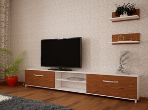 3D model closet tv stand pillow furniture